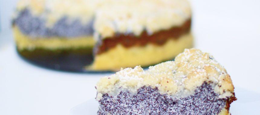 Mohn-Quark-Streuselkuchen