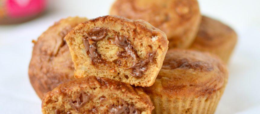 Peanutbutter Banana Muffins
