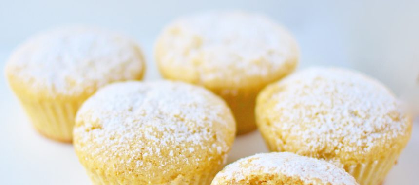 White Chocolate Cocos Muffins