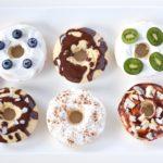 Gesunde Donuts mit Mandelmehl