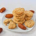 Schnelle Dattel-Hafer-Cookies